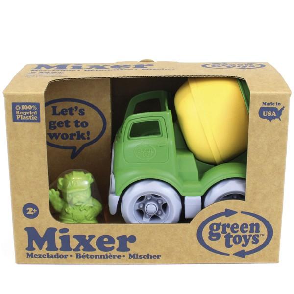 Construction Truck, Mixer - gn/ye