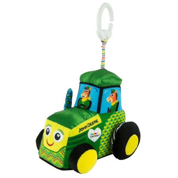 Lamaze John Deere Clip & Go Tractor
