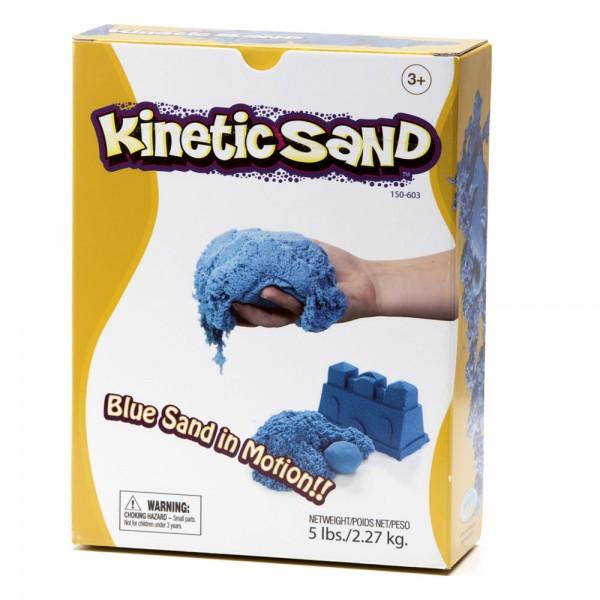 Kinetic Sand 5 lbs - blue