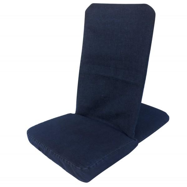 Bodenstuhl faltbar - dark jeans / Folding Backjack - dark jeans
