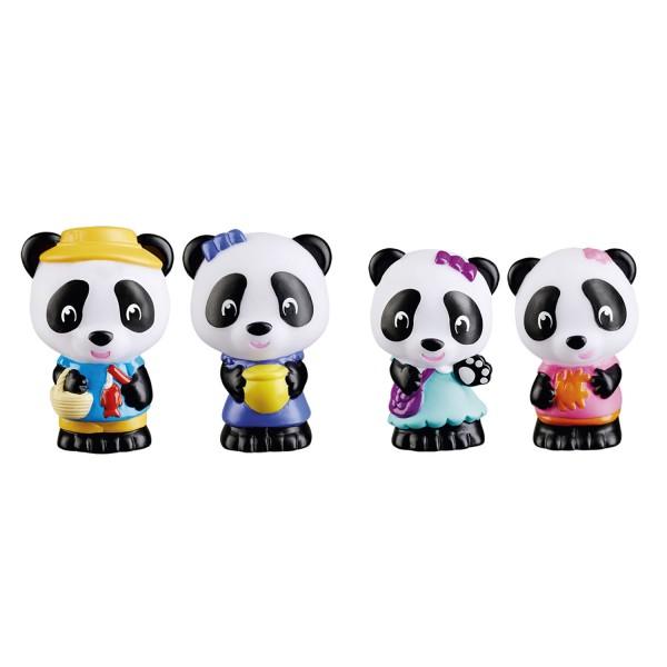 Familie Panda / Set of 4 characters