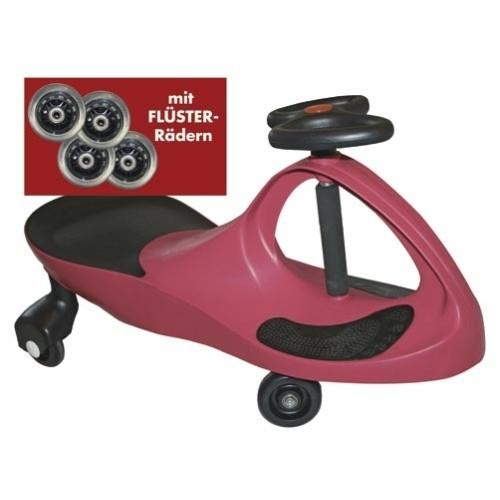 Kids-CAR - pink - mit Flüsterrädern
