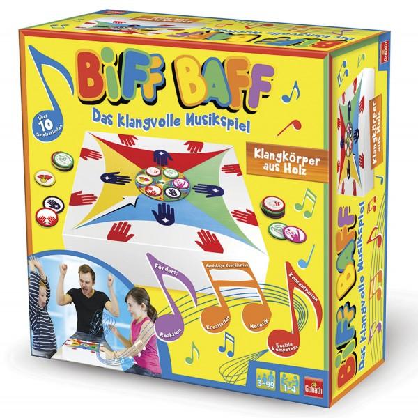 Biff Baff - Rhythmusspiel aus Holz