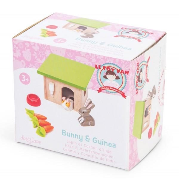 Hase & Meerschweinchen / Bunny and Guinea