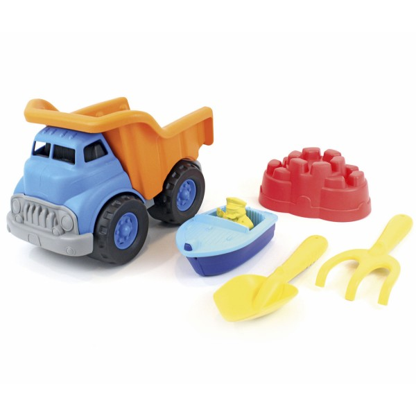 Dump Truck with Sport Boat