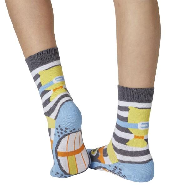 Räuber Catch me Sockenpuppe SPÜRNASEN Größe 31-34 (7-8 J.)