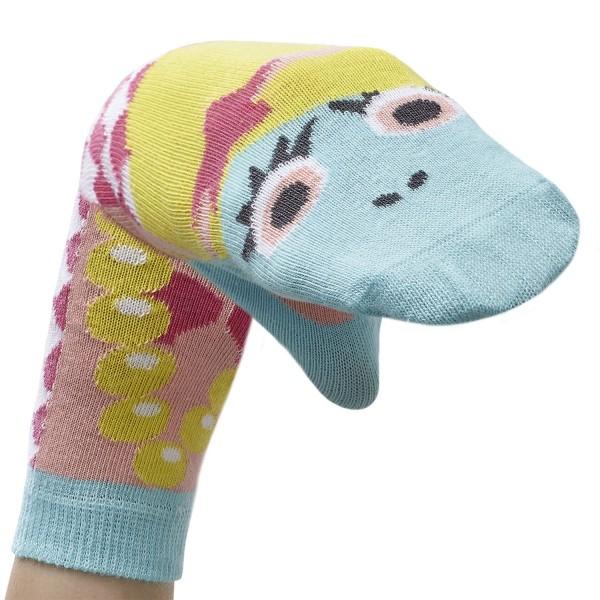Meerjungfrau Arielle Sockenpuppe SIEBEN MEERE Größe 31-34 (7-8 J.)