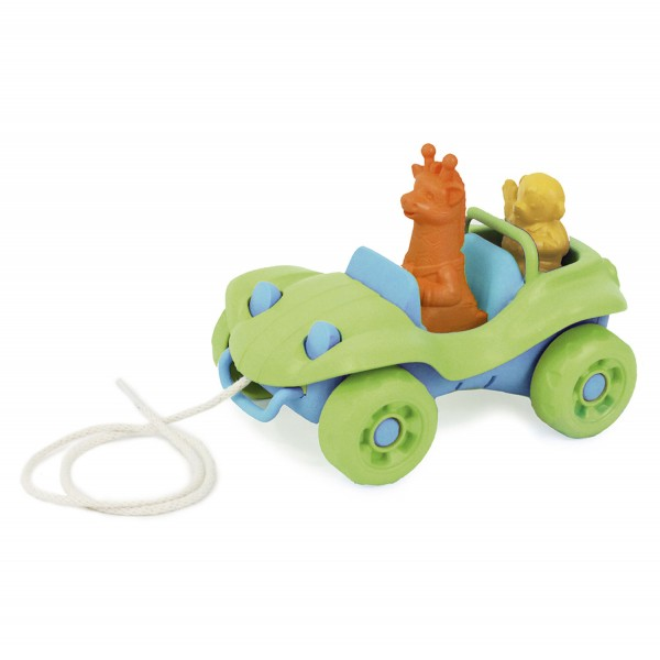 Nachziehauto - grün / Dune Buggy Pull Toy - green