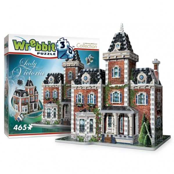 Lady Victoria - Mansion & Manoir Collection (3-d puzzle)