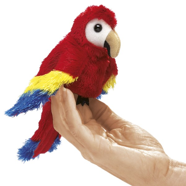 Mini Papagei / Mini Scarlet Macaw