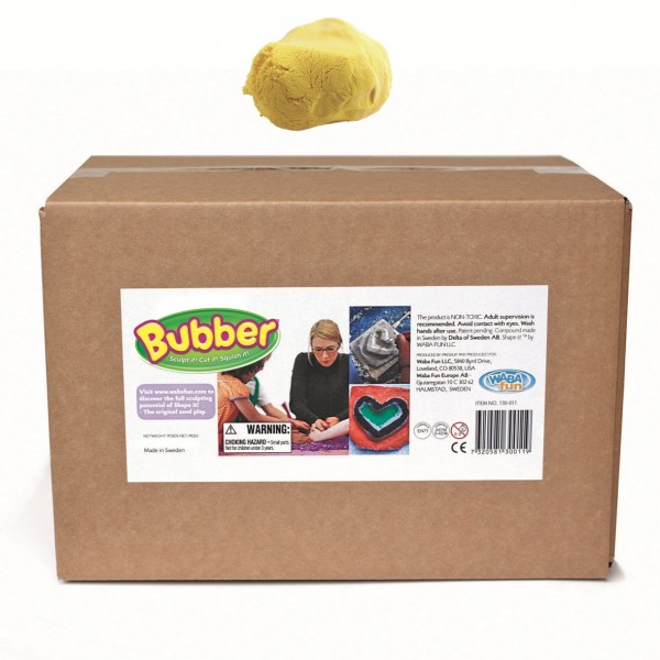 Bubber Giant New 2600 g, yellow