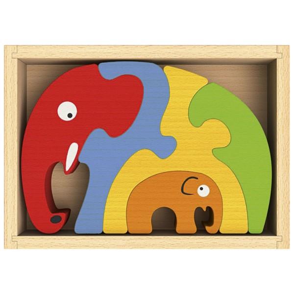 Elefantenfamilie - Elephant Familiy Puzzle