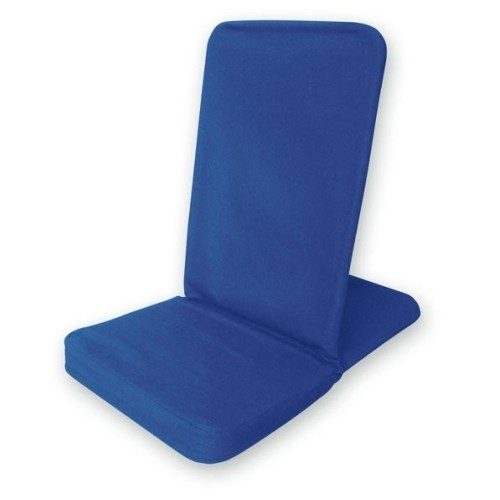 Bodenstuhl faltbar - königsblau / Folding Backjack - royal blue