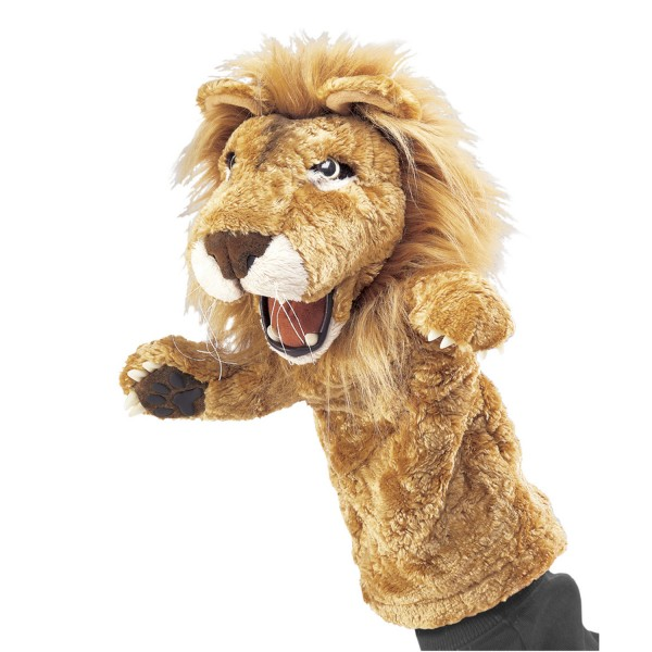 Löwe für die Puppenbühne / Lion Stage Puppet