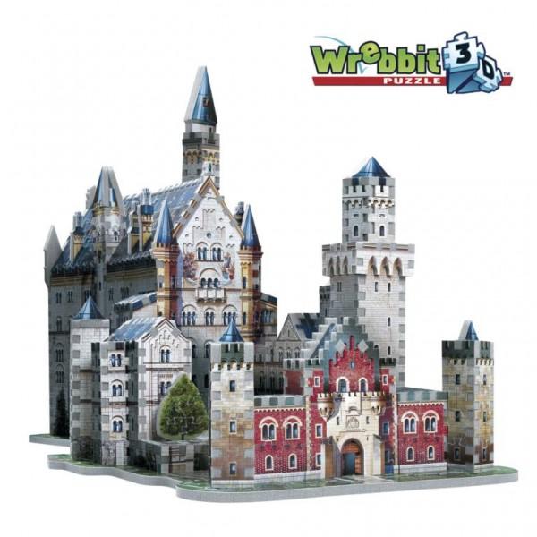 Schloss Neuschwanstein - Neuschwanstein Castle / 3D-Puzzle