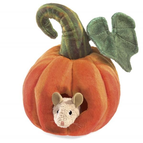 Maus in Kürbis / Mouse in Pumpkin