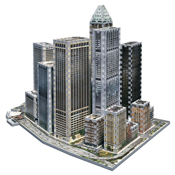 Financial - New York Collection (3-d puzzle)