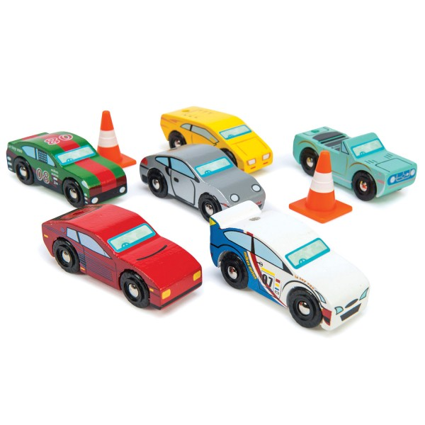 Montecarlo Rennwagen Set / Montecarlo Sports Cars