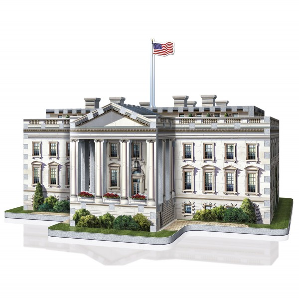 The White House - Washington (3-d puzzle)