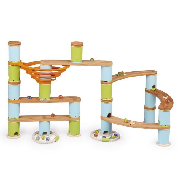 Kugelbahn: Bamboo Build & Run (89 pcs) MEDIUM 1