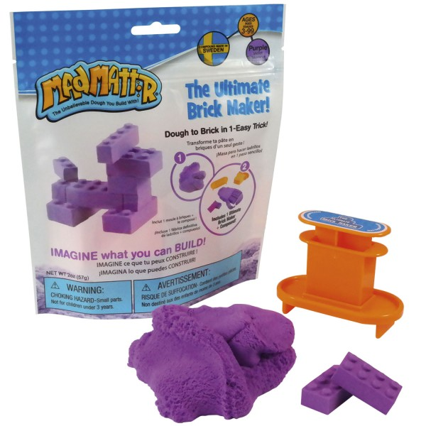 Mad MattrThe Ultimate Brick Maker Set - lila / purple