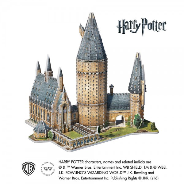 Hogwarts Great Hall (3-d puzzle)