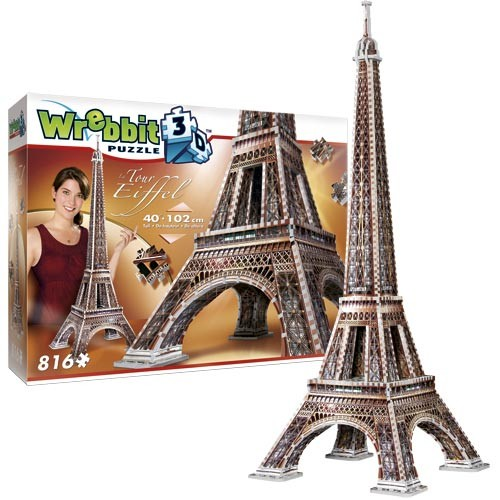 Eiffel Tower (3-d puzzle)