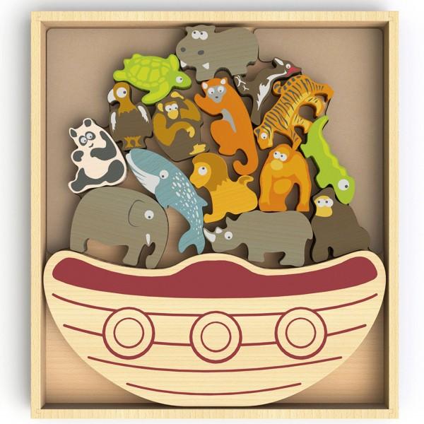 Balance Boot bedrohte Tiere -Balance Boat Endangered Animals
