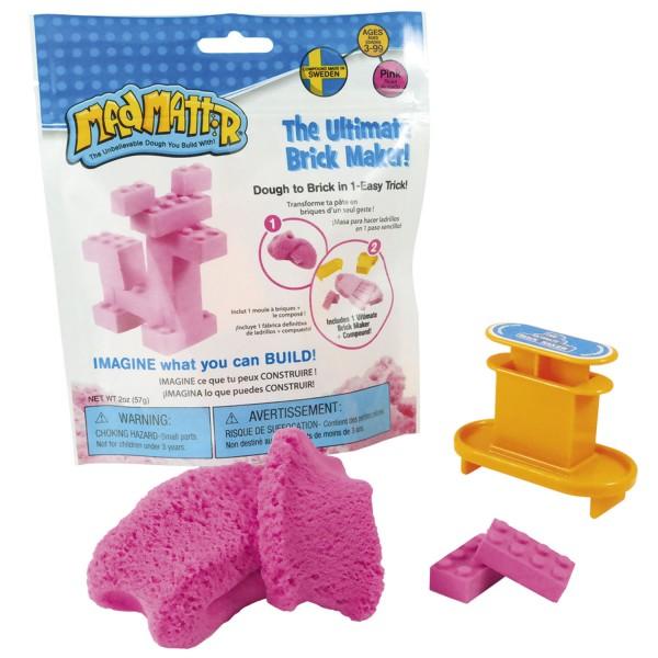 Mad Mattr The Ultimate Brick Maker Set - pink