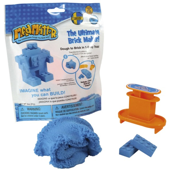 Mad Mattr The Ultimate Brick Maker Set - blau / blue