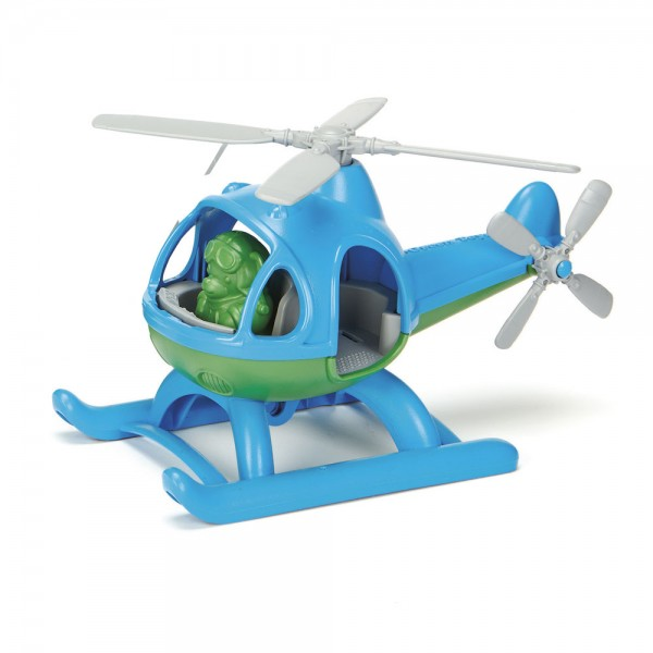 Helikopter, blau / Helicopter, blue