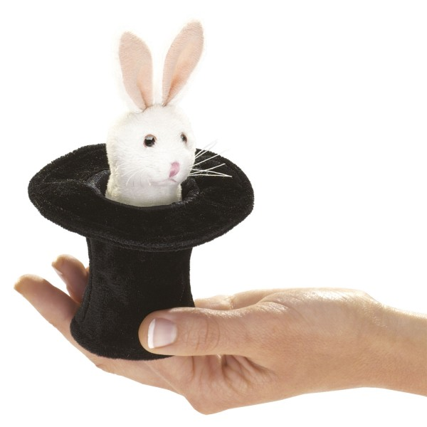 Mini Hase im Hut / Mini Rabbit in Hat