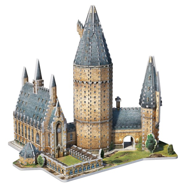 Hogwarts Große Halle Harry Potter / Hogwarts Great Hall / 3D-Puzzle