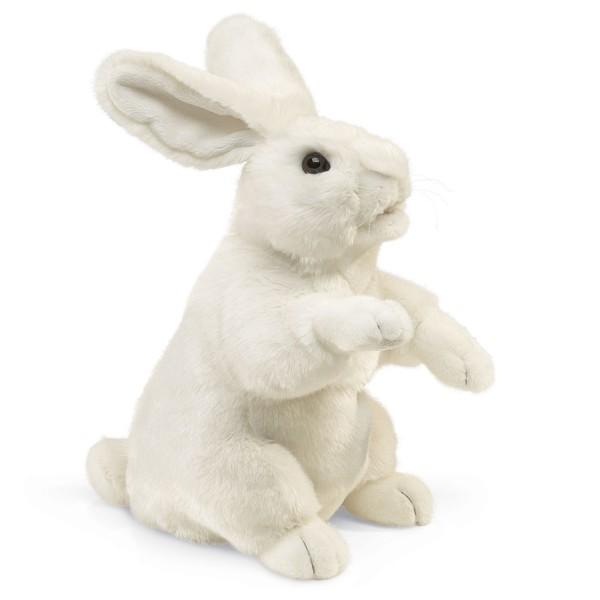 Weißer Hase, stehend / Standing White Rabbit