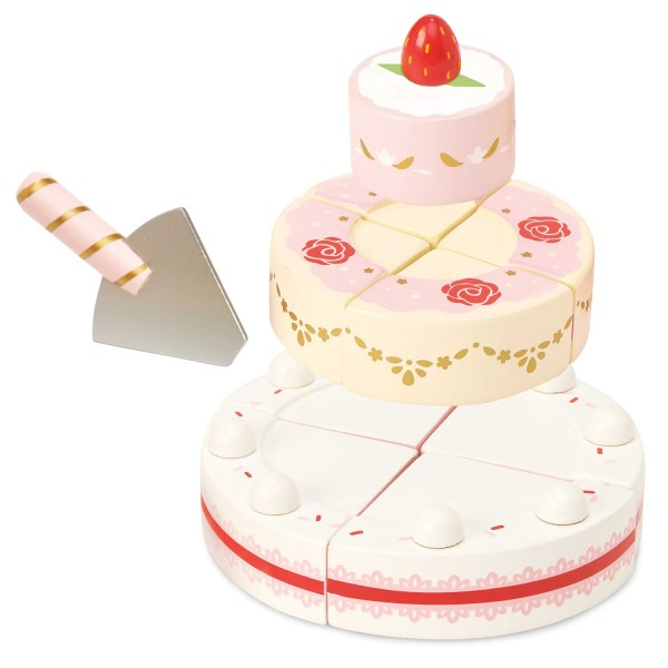 Hochzeitstorte mit Erdbeeren / Strawberry Wedding Cake