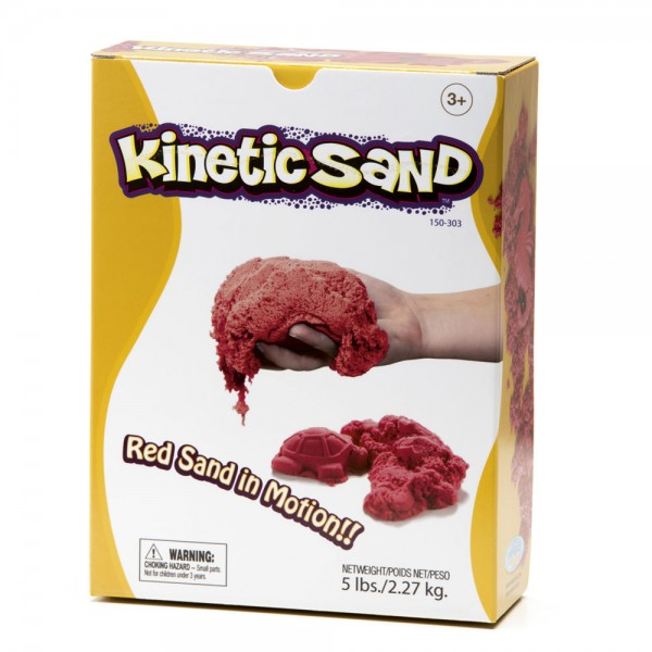Kinetic Sand 2270 g - rot / Kinetic Sand 5 lbs - red