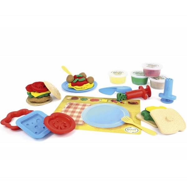 Öko-Knete Set Kochkünste / Meal Maker Dough Set