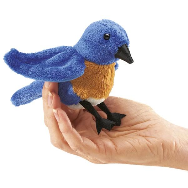 Mini Hüttensänger-Vogel (blau) / Mini Bluebird