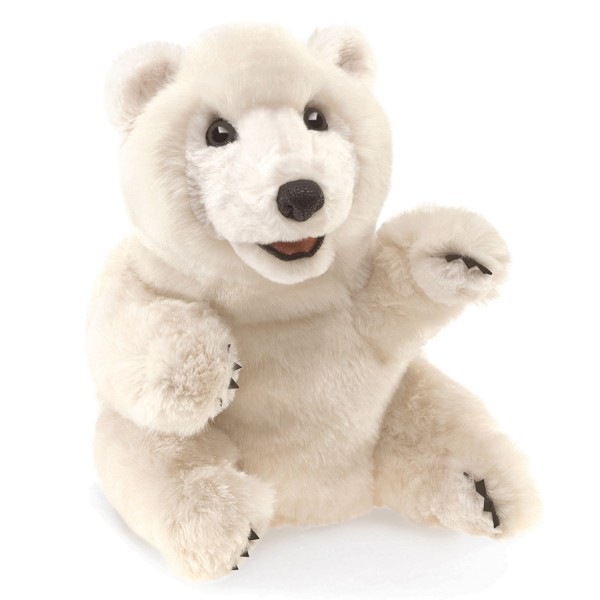 Eisbär sitzend / Sitting Polar Bear