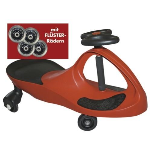 Kids-CAR - rot - mit Flüsterrädern