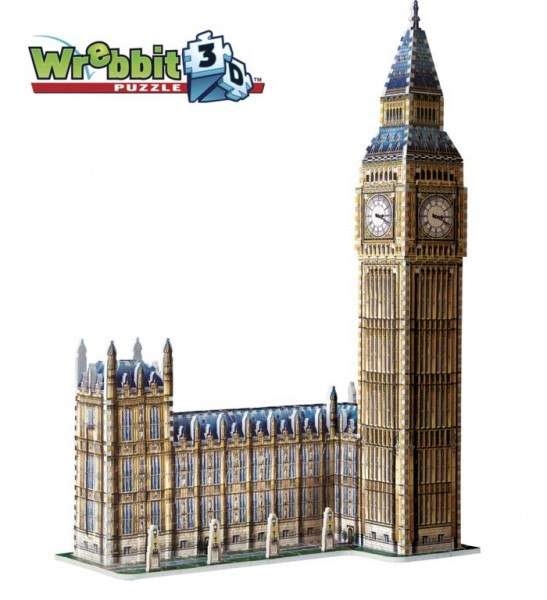 Big Ben & House of Parliament - Queen Elisabeth Tower (3-d puzzle)