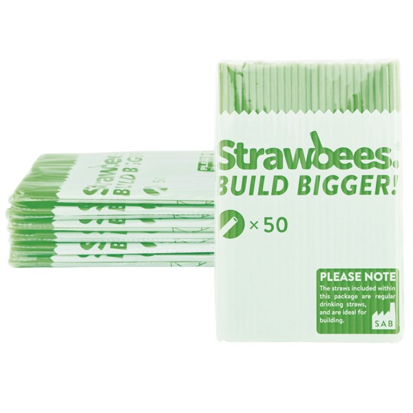 Straws green 50 pcs.
