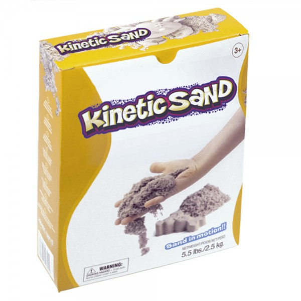 Kinetic Sand 2,5 kg / Small pack kinetic sand