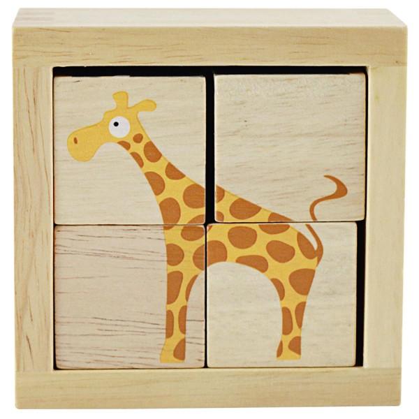 Würfelpuzzle Safari - Buddy Blocks Safari